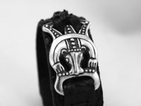 Авторский браслет из кожи питона Веллес