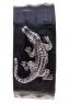 Браслет из кожи крокодила с серебром Лидер фото 1