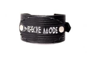 Кожаный браслет клубный DM Винтаж