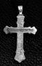 Крест серебряный нательный №1 фото 1