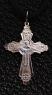 Крест серебряный нательный №3 фото 1