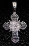 Крест серебряный нательный №8 фото 1