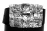 Ремень из кожи авторский Джинсовый фото 3