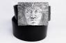 Ремень с пряжкой из серебра Эгос фото 2