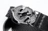 Ремень из кожи питона с серебряной пряжкой Дуэт фото 4