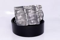 Ремень с пряжкой из серебра Риччи