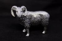 Статуэтка из серебра Руно