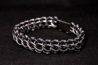 Авторский браслет из серебра Блэк Юпитер