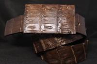 Кожаный ремень Гэвиал Виски