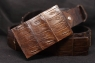Кожаный ремень Гэвиал Виски фото 2
