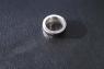 Кольцо из серебра с кожей кобры  фото 3