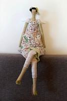 Кукла Тильда добрый ангел