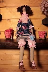 Кукла Тильда ручной работы Девчушка
