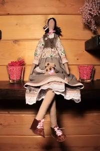 Кукла Тильда ручной работы Кофейная Фея