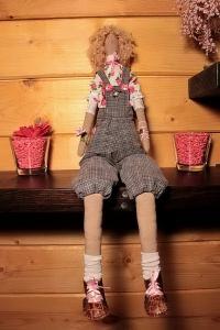 Кукла Тильда ручной работы Модница