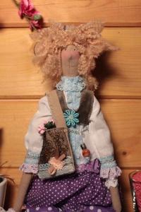 Кукла Тильда ручной работы Ирис