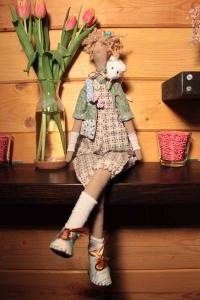Кукла Тильда ручной работы Люня