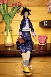 Кукла Тильда ручной работы Линда
