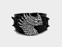 Кожаный браслет Дракон Кале