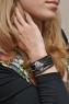 Авторский браслет из кожи Морской скат фото 2