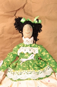 Интерьерная кукла Пасха